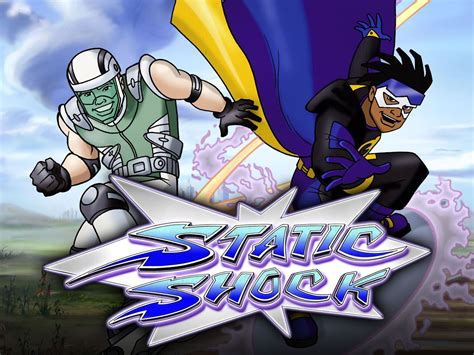 Static Shock Is An African American Superhero From Dc