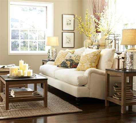 Pottery Barn Living Room by Pottery Barn My Living Room Inspiration