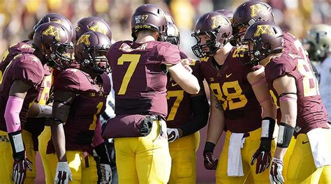 ranking  toughest games  minnesotas college football