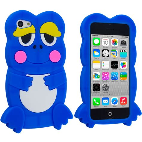 iphone 5c silicone cellsafe silicone for iphone 5c white csip5c w b h for apple iphone 5c frog silicone rubber soft