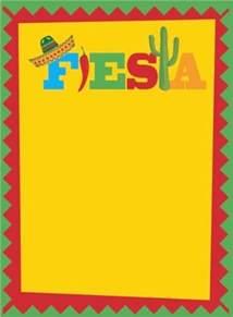 Mexican Fiesta Border Clip Art