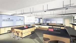 Renderings Of Laboratory Interiors