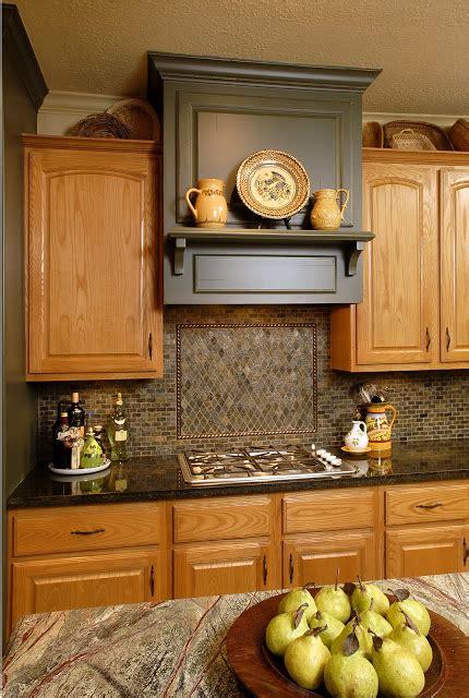 oak cabinets designed