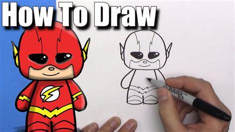 draw  cute cartoon  flash easy chibi step