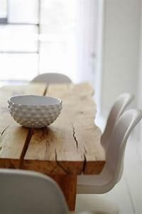 Stühle Für Holztisch : die besten 25 holztisch ideen auf pinterest rustikaler schreibtisch schreibtischideen und ~ Markanthonyermac.com Haus und Dekorationen