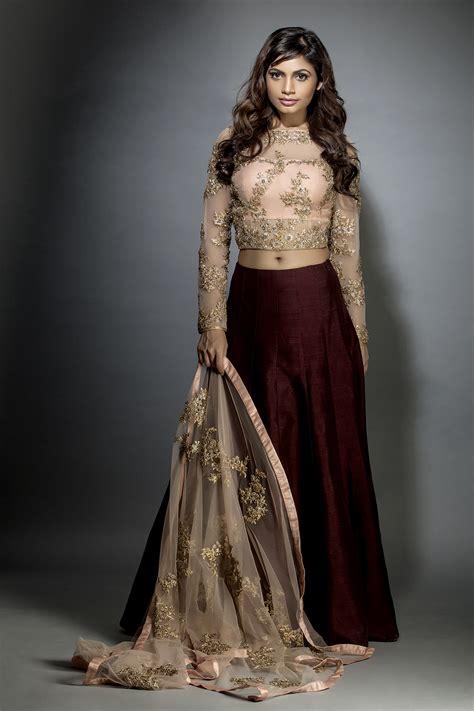 keera crop top  skirt jiya  veer design studio