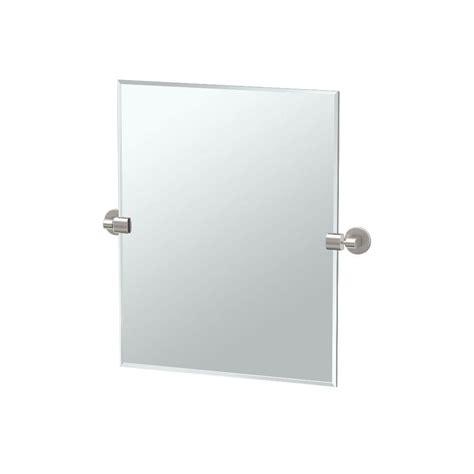 Rectangle Bathroom Mirrors by Rectangle Tilt Frameless Bathroom Mirrors Bath