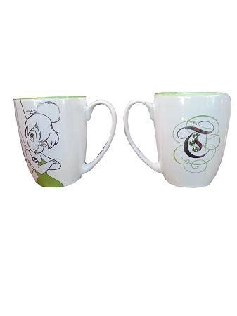 Disney Coffee Mug   Tinker Bell Cup   Rhinestones