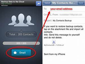How to transfer contacts from iphone to android phone for My documents android