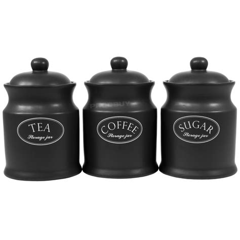 black kitchen canister kitchen black canister sets for kitchen with