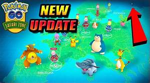 Oster Event Pokemon Go : pokemon go safari zone events get new dates update pokemon group ~ Orissabook.com Haus und Dekorationen