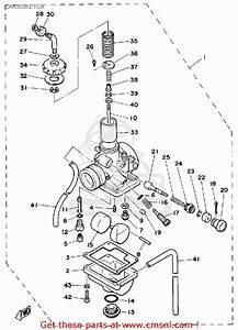 Yamaha Dt125 1981  B  Usa Carburetor