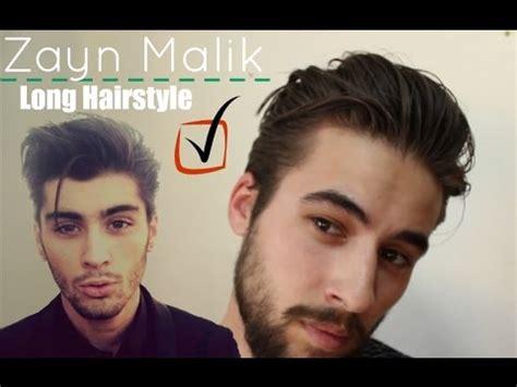 Zayn Malik Long Hairstyle   Best Mens Hair 2015   My