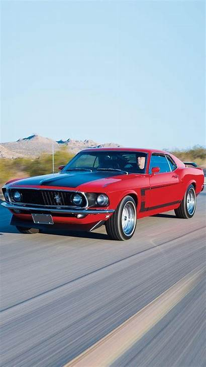 Mustang Iphone Ford 1969 Wallpapers 69 Boss