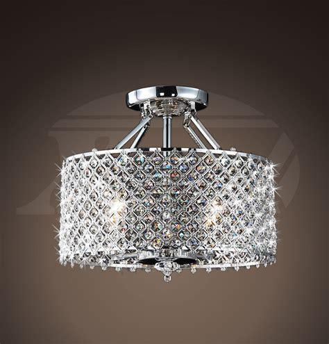 ceiling mount chandelier helina chrome and 4 light ceiling flush