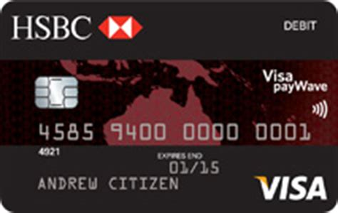 Looking for a credit card? HSBC Day To Day Debit Card - Debitcards.com.au
