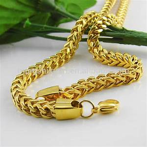 Hot Selling Fashion Jewelry 2014 New Products Stainless Steel Golden Chain Design - Buy Golden ...
