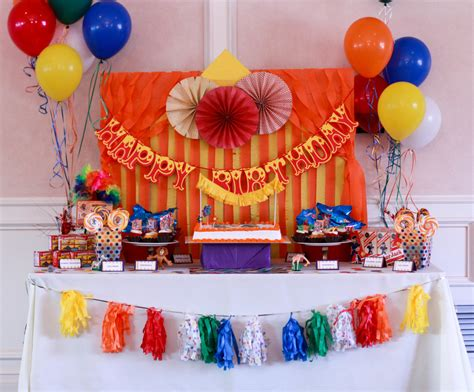 Circus Themed Birthday Party  Madagascar 3 Style