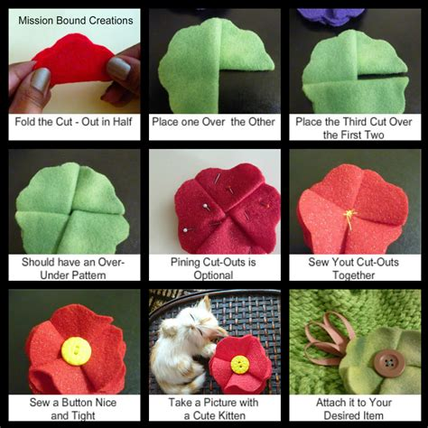how to make a with cloth flores de tela como telar