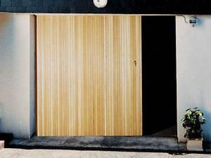 porte garage coulissante bois 200x240cm castorama With porte de garage bois coulissante