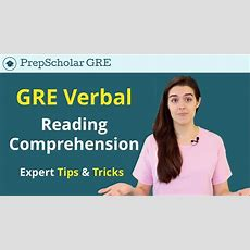 Gre Reading Comprehension  Prepscholar's Master Guide Youtube