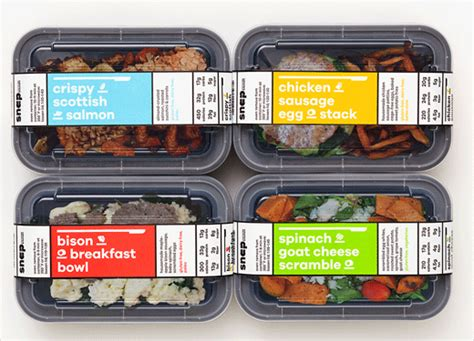 snap kitchen menu pentagram creates new identity and branding for snap