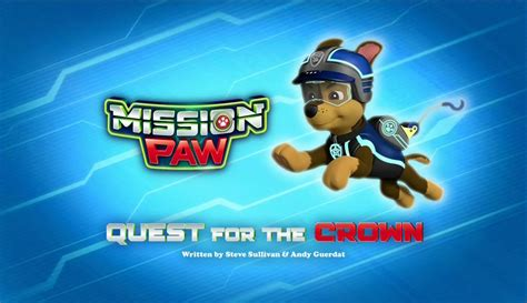 Image Mission Paw Quest For The Crown Title Card Png