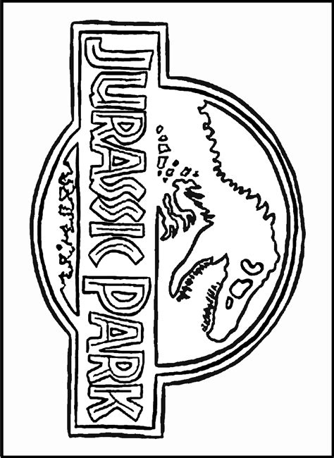 jurassic world trex coloring pages coloring pages