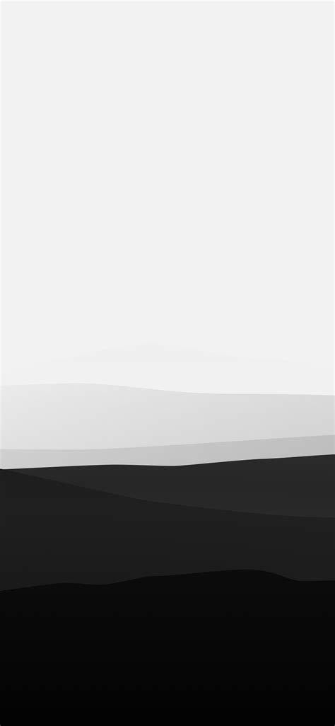 Share 4k black and white with your friends. 1125x2436 Minimalist Mountains Black And White Iphone XS,Iphone 10,Iphone X HD 4k Wallpapers ...