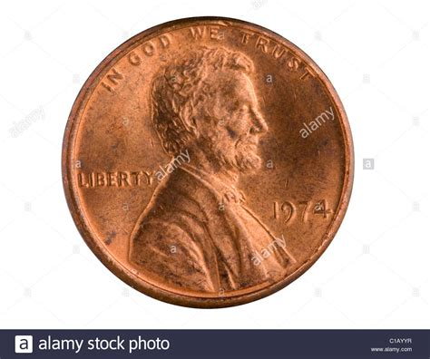 what are pennies made of us 1 cent copper penny from 1974 pennies made prior to 1983 had a stock photo royalty free