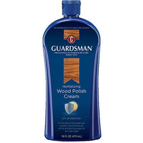guardsman furniture polish review wood cream