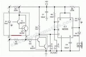Clear Glass Sensor - Sensor Circuit