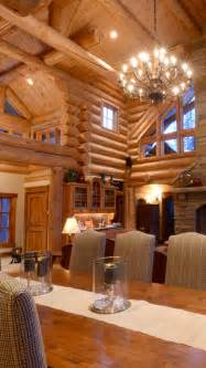Interior Of Log Homes Rustic Home Design Inspiration