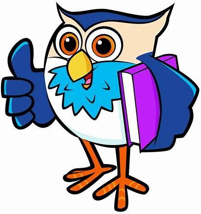 Clipart Owl Sick Reading Borrowing Transparent September