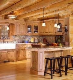 log cabin kitchen ideas cabin kitchens log style