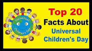 Children's Day - Facts - YouTube