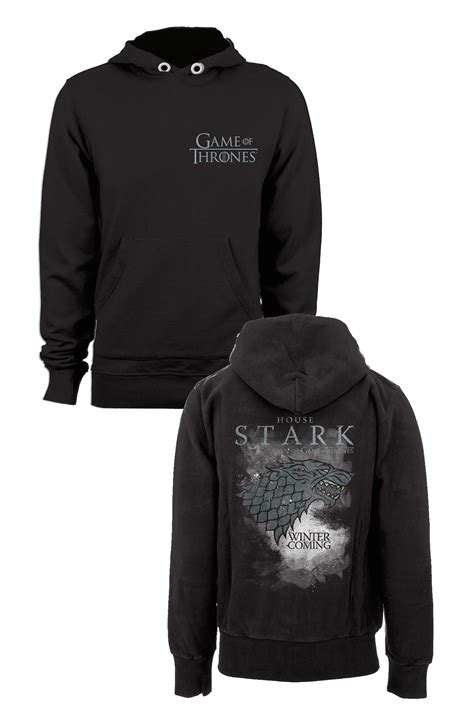 of thrones sweater of thrones sweater a capuche stark houses