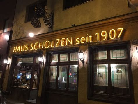 Haus Scholzen, Κολωνία  Κριτικές εστιατορίων Tripadvisor
