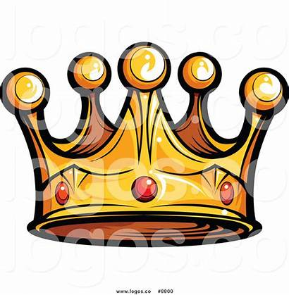 Crown King Clip Gold Royalty Vector Gems