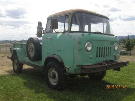 willys jeep truck green willys fc 170 extended cab pickup 1962 green for sale