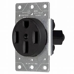 Enerlites 50 Amp Outlet For Dryer  Stove  Oven  Range