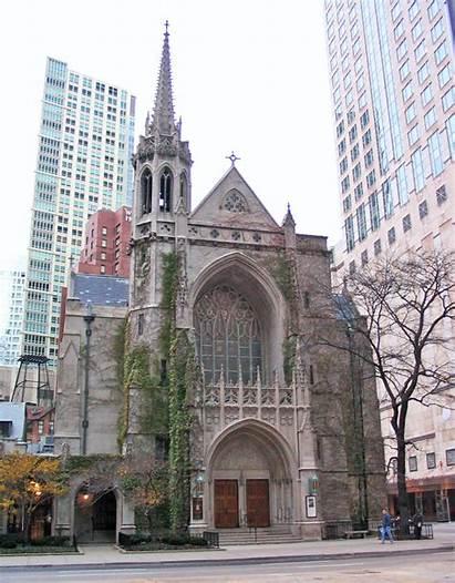 Presbyterian Chicago Church Churches Fourth Presbyterianism 4th