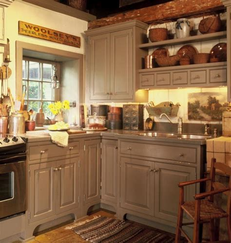Kitchen Small Kitchen Design With Cream Painted L Shaped