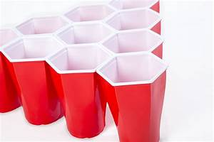 HexCup - Hexagon-Shaped Beer Pong Cups - The Green Head