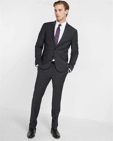 Skinny Innovator Performance Stretch Wool Blend Suit Jacket | Express