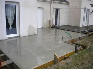 Dalle Beton Maison : dalle b ton maison ossature bois garage v randa ancenis ~ Premium-room.com Idées de Décoration