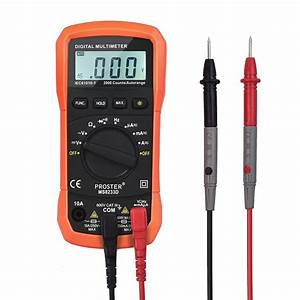 Best Mini Digital Multimeter Ac  Dc Voltage Testers Reviews