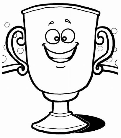 Trophy Clipart Clip Cliparts Trophies Football Cup
