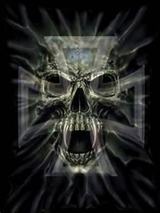 Download The Skull Wallpaper 240x320 | Wallpoper #100153