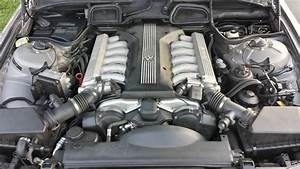 My E38 750il Engine Bay    Bmw